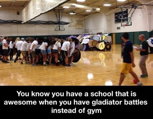 school gym funny Surprisingly Fewer Casualties Than Dodgeball