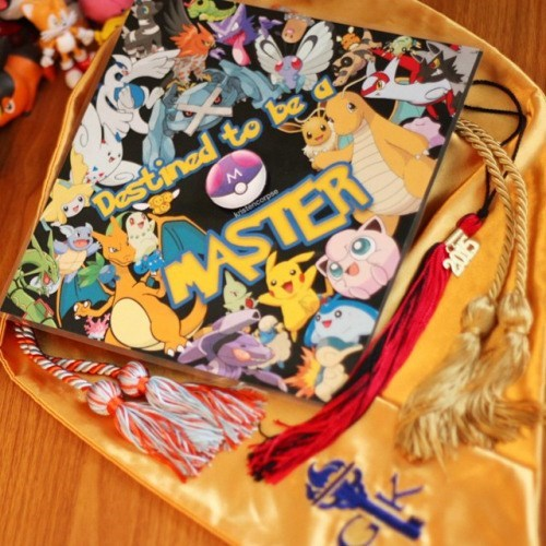 school graduation hat The Degree Requirements are to Catch 'Em All