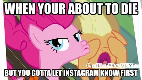 instagram duck face pinkie pie - 8501363968