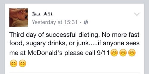 Surely, Breaking Your Diet Doesn't Warrant THAT!