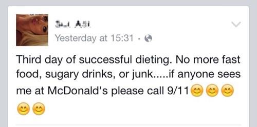 911 diet fast food - 8501527040