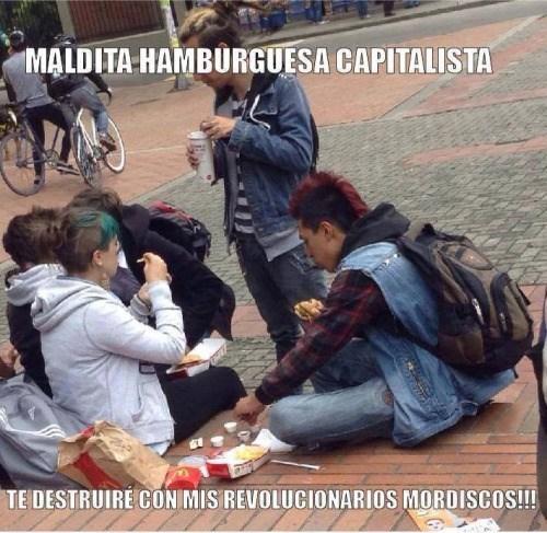 hamburguesas capitalistas