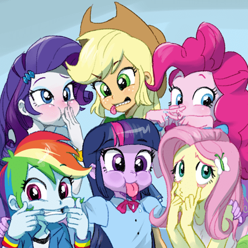 photograph mane 6 silly one - 8501650688