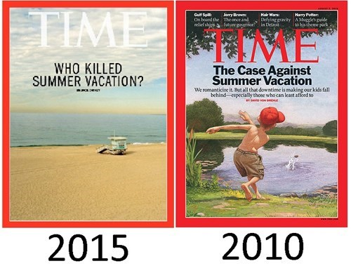 school summer vacation YOU Did!