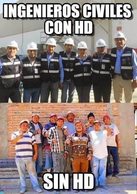 ingenieros en HD