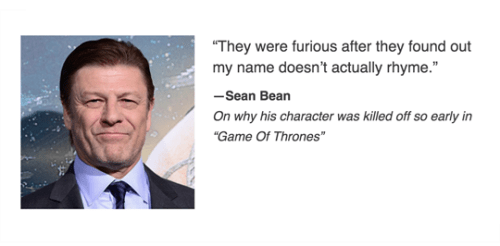 game of thrones memes season 5 sean bean explains ned stark's death