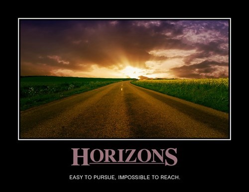 demotivational horizons image It Just Keeps Going