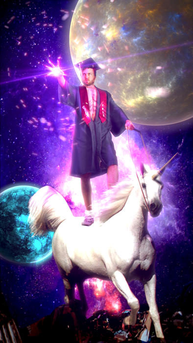 school graduation unicorn Come Unicorn, It's Time to Join the Workforce