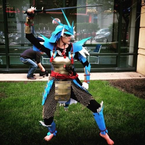 pokemon memes samurai gyarados cosplay