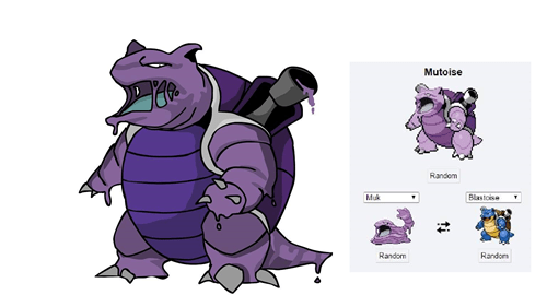 pokemon fusion,Fan Art