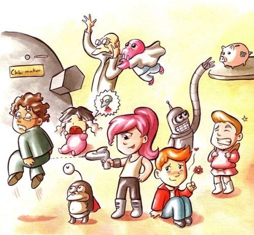 anime cartoons futurama - 8502575360