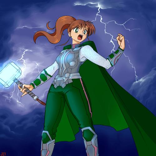 crossover Thor anime sailor moon - 8502689792