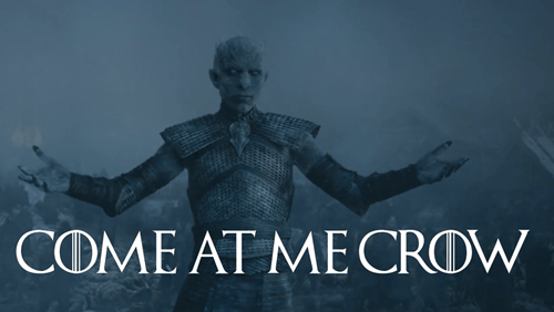 Game of thrones memes season 5 come at me crow