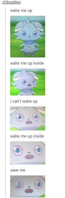 pokemon memes espurr wake me up inside