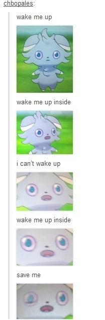 pokemon memes espurr wake me up inside