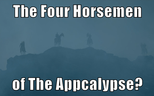 Game of Thrones four horsemen Memes - 8503209472