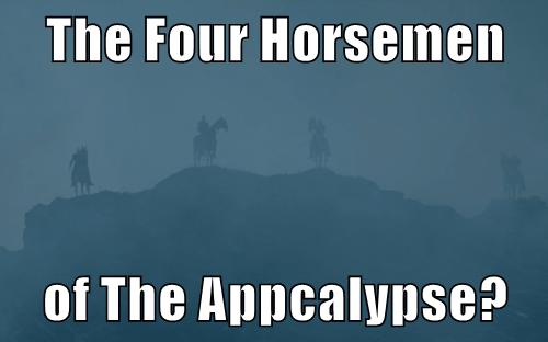 Game of Thrones four horsemen Memes - 8503209472