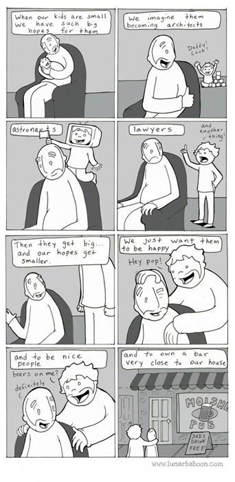 funny-web-comics-the-secret-to-raising-kids