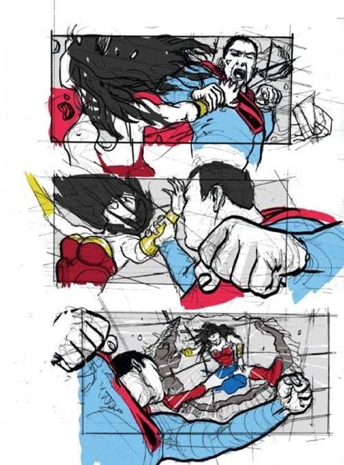 superman-fights-wonder-woman