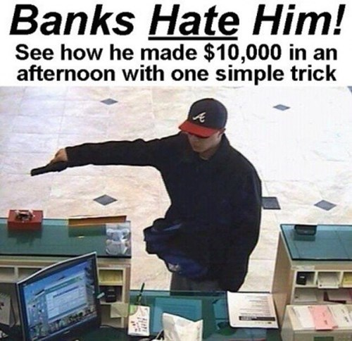 bank robbers banks - 8503369472