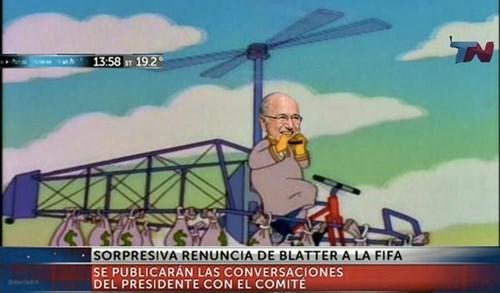 renuncia Blatter