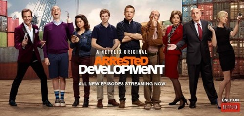 Arrested Development is coming back in 2016 according to Netflix.