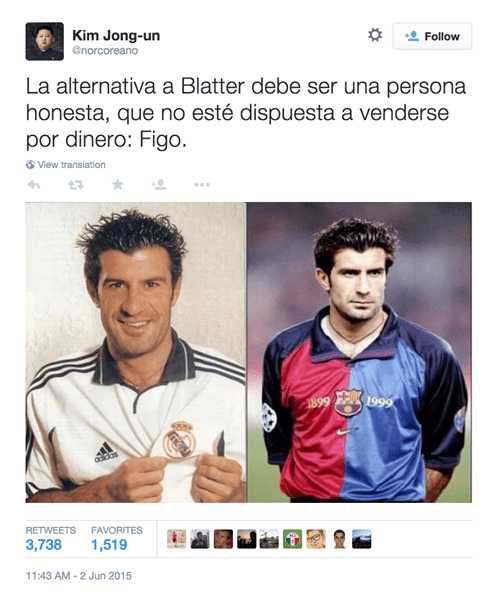 El reemplazo de Blatter