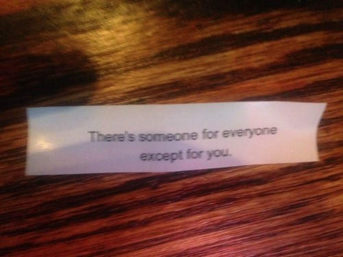 dating fortune cookie image You Will Not Be Finding Love on Flag Day