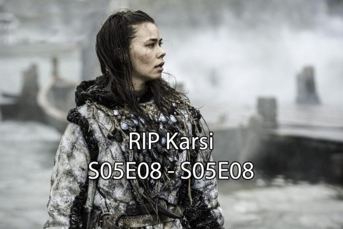 game of thrones memes season 5 karsi is gone and we all are sad.