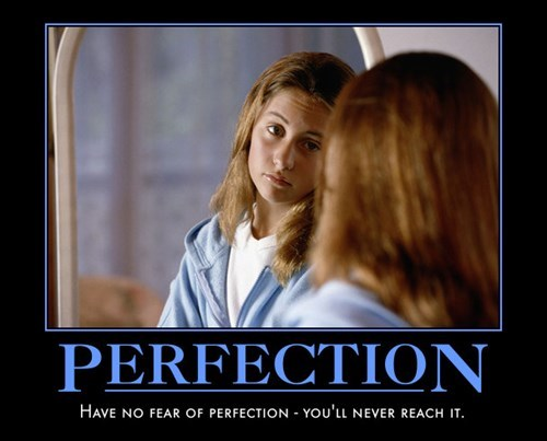 demotivational perfection image It's Freeing... In a Way
