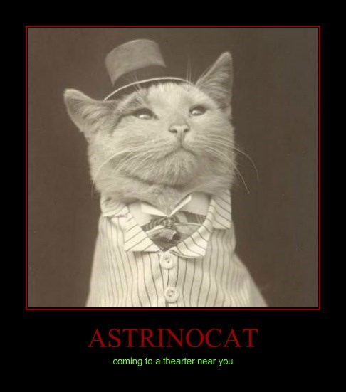 ASTRINOCAT coming to a thearter near you
