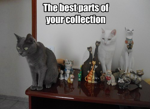 statues Cats - 8504260352