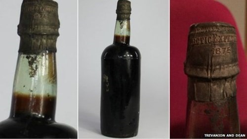 beer cool history This Unopened Beer is 140 Years Old