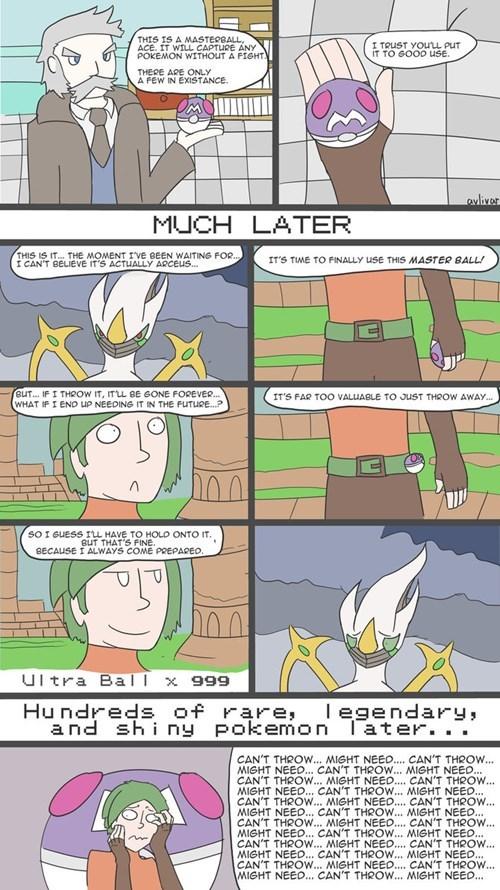 pokemon memes master ball