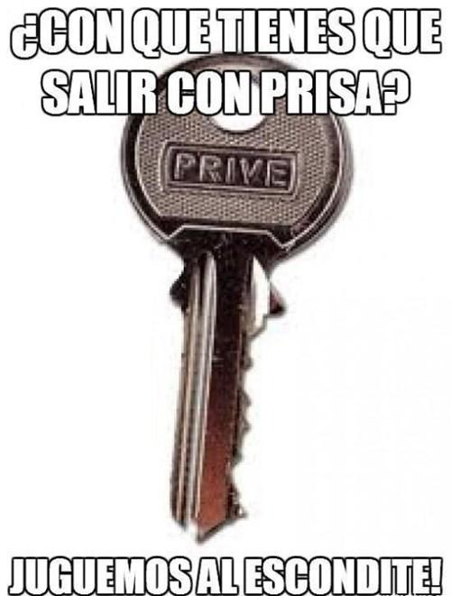 llave escondida