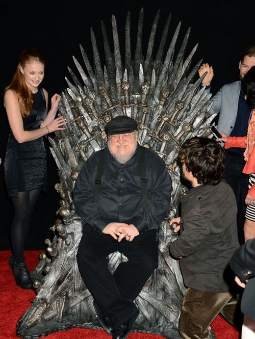 Game of thrones memes season 5 George RR Martin Explains all the violence against women.
