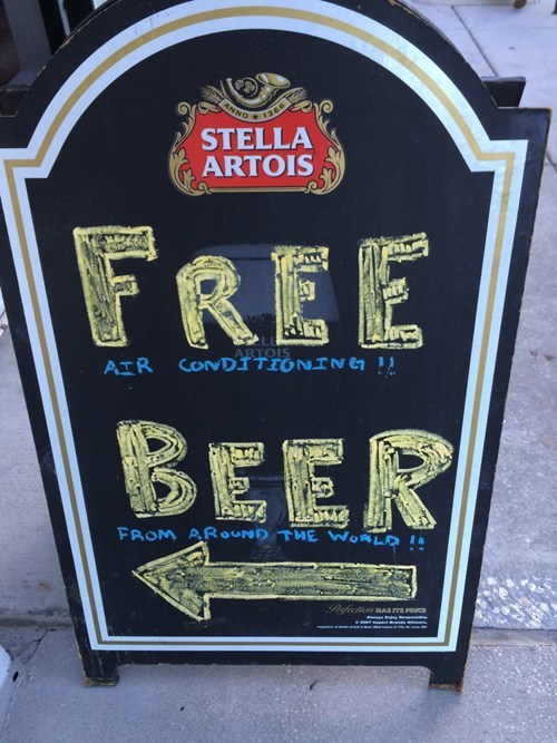 funny bar signs YES! ... Wait