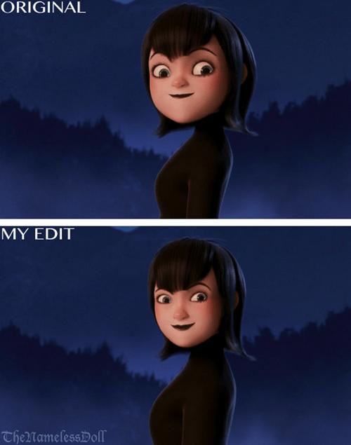mavis realistic face
