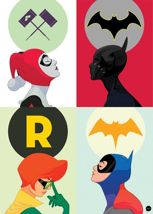 superheroes-batgirl-dc-harley-robin-ladies-art