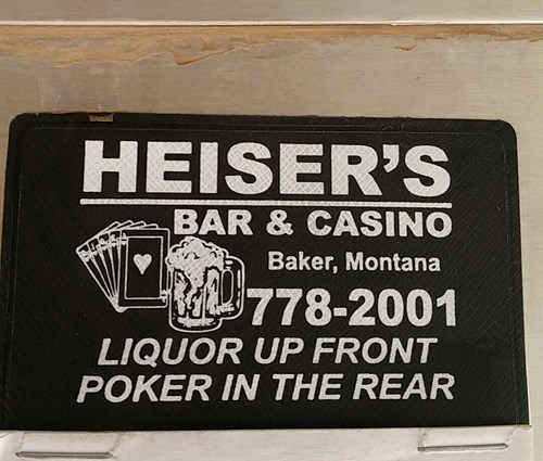 funny bar signs But Where Do You Keep The Slot Machines?