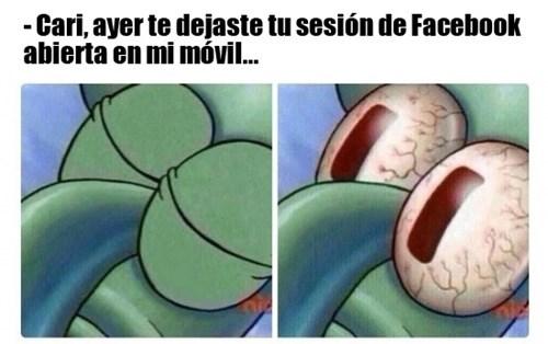 sesion de facebook