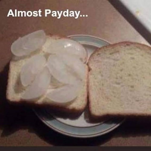 payday funny image Just Hang In There