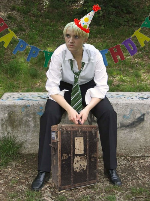 Draco's birthday and harry potter's son keep J K Rowling on Twitter