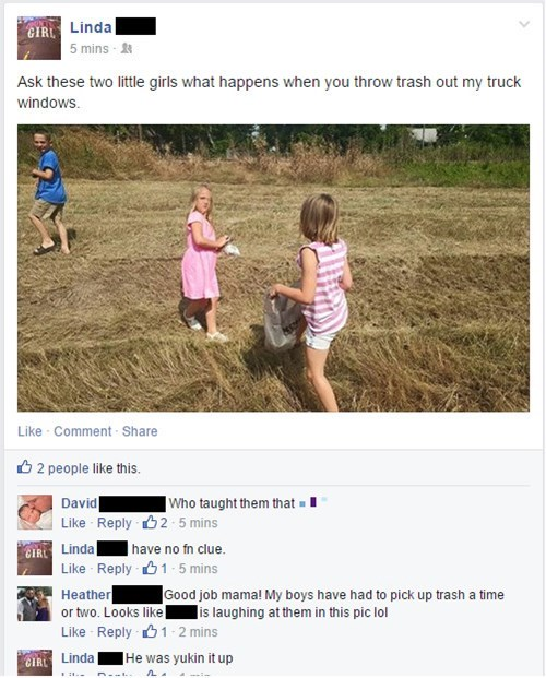 ouch trash parenting punishment failbook - 8505372672