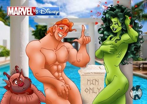 Cartoon - MARVEL'sEAEp EXDEVIAN MEN ONLY ANA