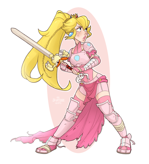 Peach, Warrior Princess