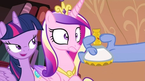 that looks naughty princess cadence twilight sparkle - 8505741824