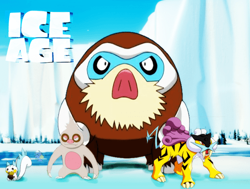crossover Pokémon ice age - 8506033664