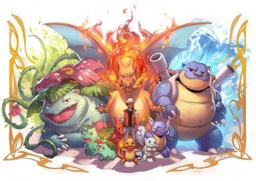 pokemon memes generation 1 fan art