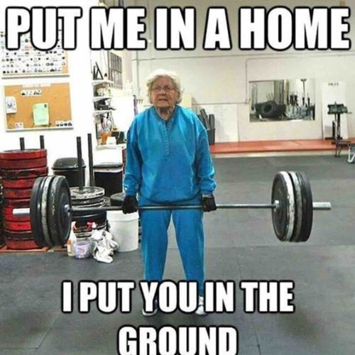 Powerlifting - PUT ME IN A HOME IPUT YOUIN THE GROUND
